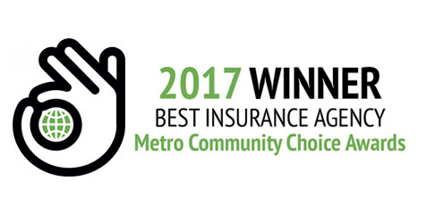 A.P. Reid Wins Best Insurance Agency - Metro Community Choice Awards