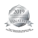 The Versature Award for Digital Innovator of the Year Insurance Business Canada 2019