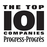 Progress Top 101 Companies 12 Time Winner